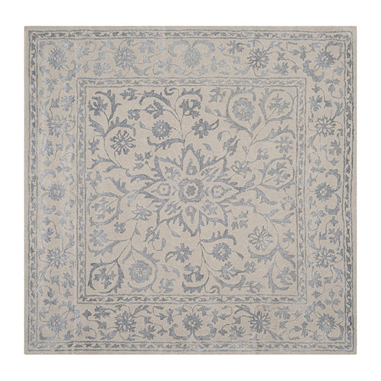 Safavieh Glamour Collection Apache Floral Square Area Rug