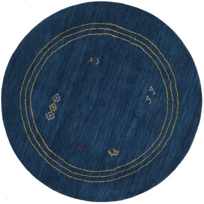 Safavieh Himalaya Collection Patrick Border Round Area Rug