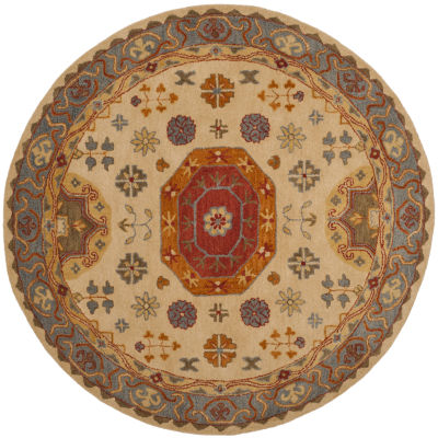 Safavieh Heritage Collection Bryony Oriental RoundArea Rug