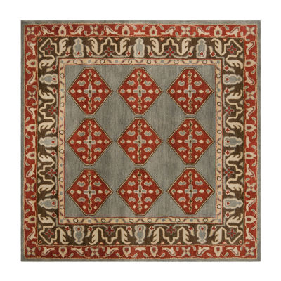 Safavieh Heritage Collection Ophelia Oriental Square Area Rug