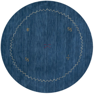 Safavieh Himalaya Collection Leo Solid Round Area Rug