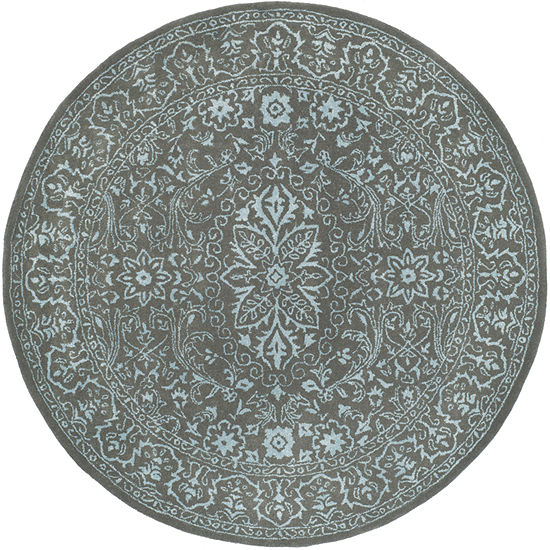 Safavieh Glamour Collection Brianna Oriental Round Area Rug