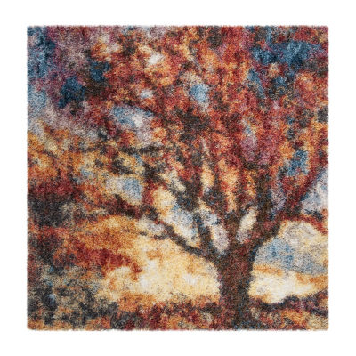 Safavieh Gypsy Collection Jackalyn Abstract Square Area Rug