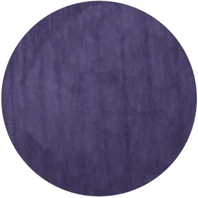Safavieh Himalaya Collection Leptis Solid Round Area Rug