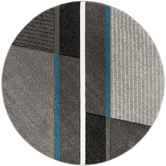 Safavieh Hollywood Collection Zola Abstract Round Area Rug