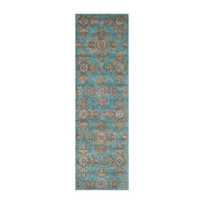 Safavieh Heritage Collection Merrill Damask Runner Rug