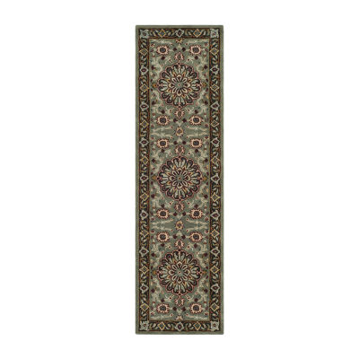 Safavieh Heritage Collection Raeburn Oriental Runner Rug