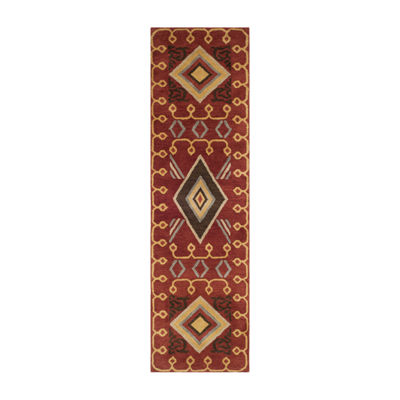 Safavieh Heritage Collection Ruth Geometric Runner Rug