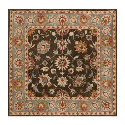 Safavieh Heritage Collection Donette Oriental Square Area Rug