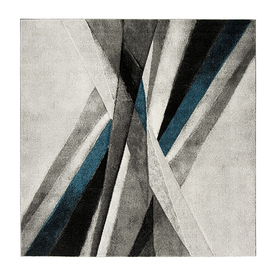 Safavieh Hollywood Collection Richard Abstract Square Area Rug