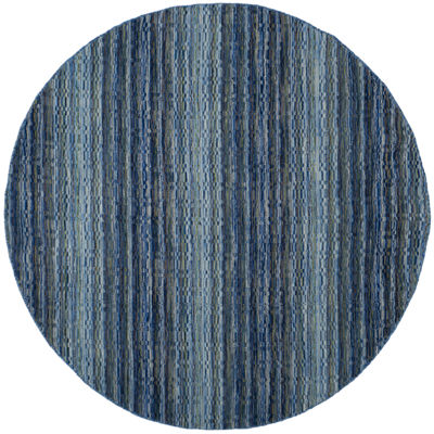 Safavieh Himalaya Collection Altan Striped Round Area Rug
