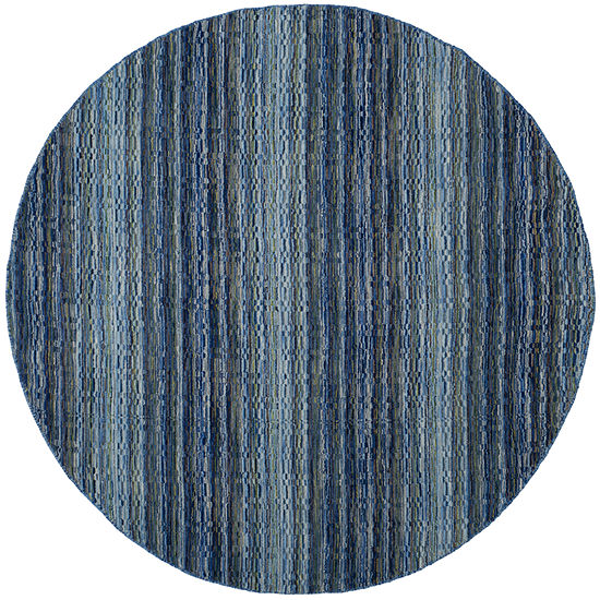 Safavieh Himalaya Collection Altan Striped Round Area Rug