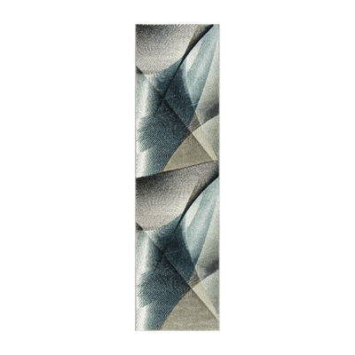 Safavieh Hollywood Collection Sydney Abstract Runner Rug