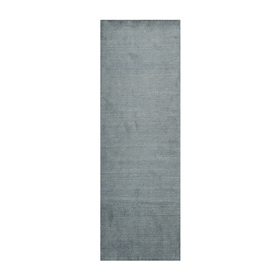 Safavieh Himalaya Collection Letters Solid Runner Rug