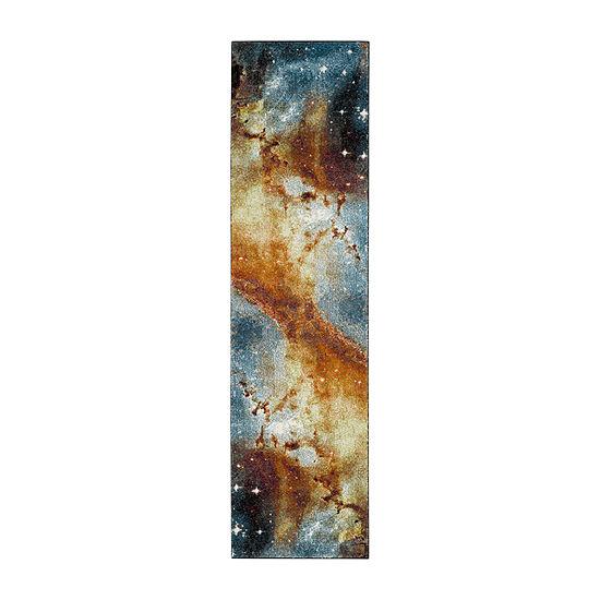 Safavieh Galaxy Collection Kimbra Geometric Runner Rug