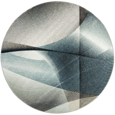 Safavieh Hollywood Collection Sydney Abstract Round Area Rug