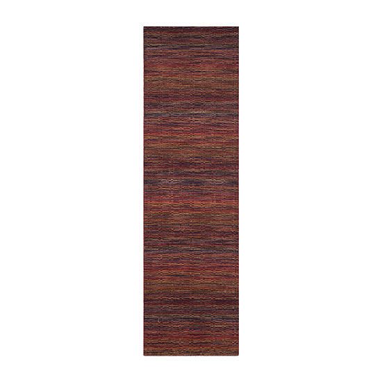 Safavieh Himalaya Collection Lysette Striped Runner Rug
