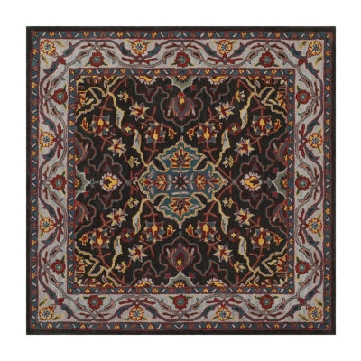 Safavieh Heritage Collection Cleves Oriental Square Area Rug