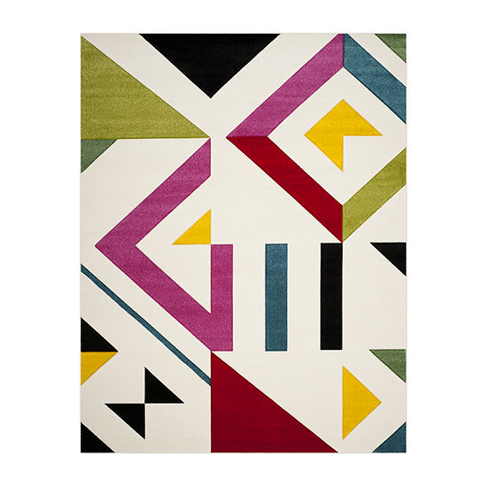Safavieh Hollywood Collection Linnette Abstract Area Rug