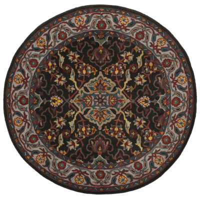 Safavieh Heritage Collection Cleves Oriental Round Area Rug