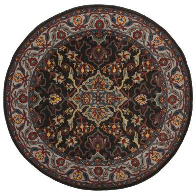 Safavieh Heritage Collection Cleves Oriental RoundArea Rug
