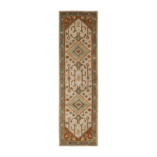 Safavieh Heritage Collection Faris Oriental Runner Rug