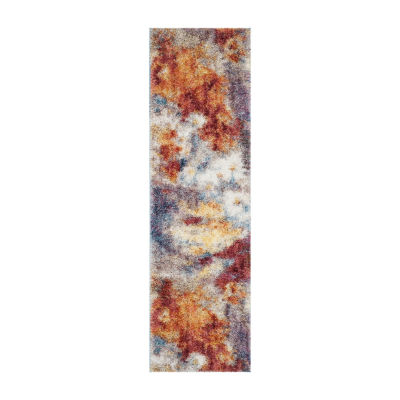 Safavieh Gypsy Collection Corina Abstract Runner Rug