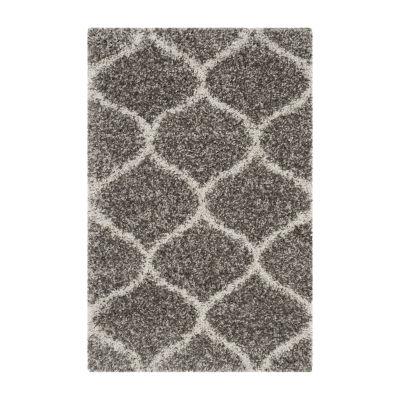 Safavieh Hudson Shag Collection Maria Geometric Area Rug