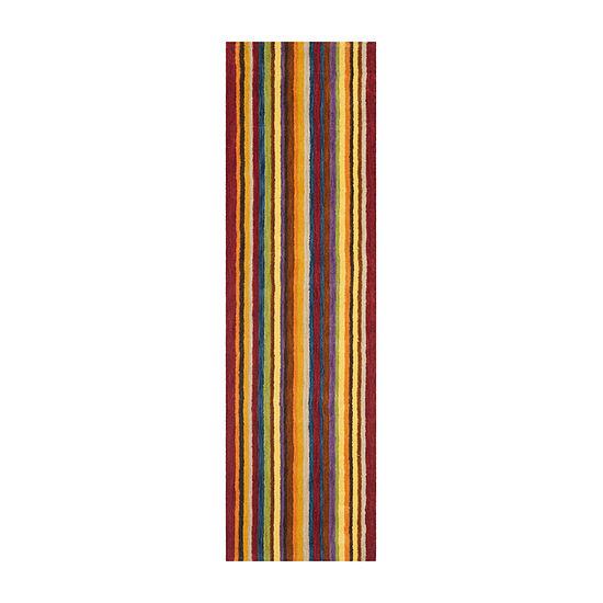 Safavieh Himalaya Collection Adolf Striped Runner Rug