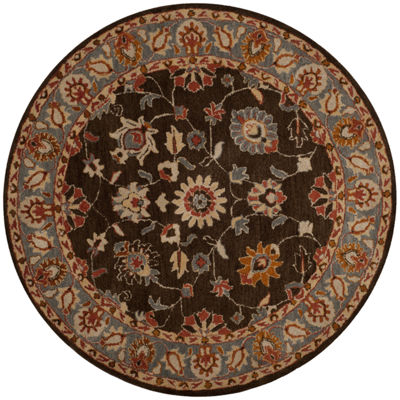 Safavieh Heritage Collection Donette Oriental Round Area Rug