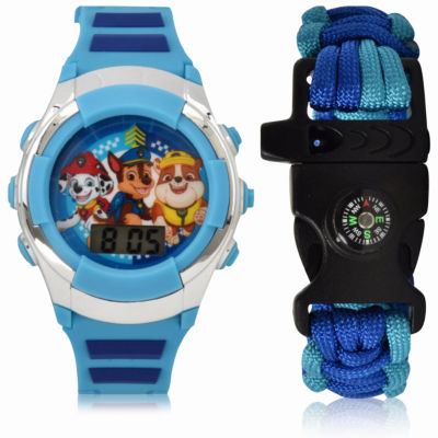 Holiday 2018 Paw Patrol Unisex Multicolor Strap Watch-Paw40034jc