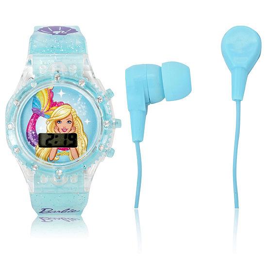 Barbie Holiday 2018 Barbie Unisex Blue Automatic Strap Watch-Bdt40003jc