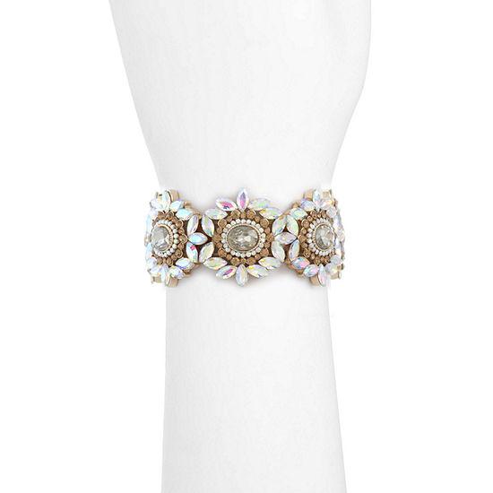 Monet Jewelry Brown Stretch Bracelet