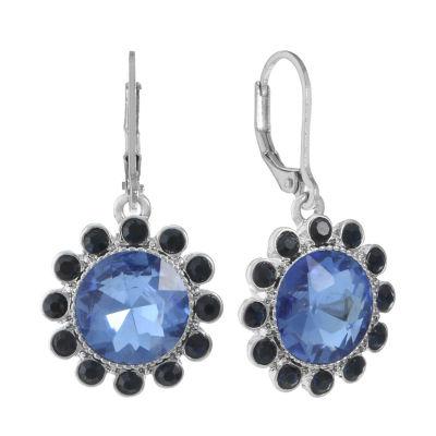 Monet Jewelry Blue Drop Earrings