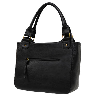 St. John's Bay Grainy Washed Double Shoulder Bag