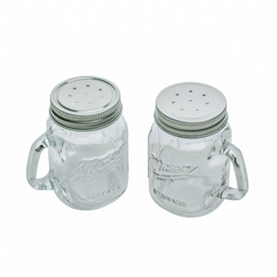 Mason Craft And More Salt + Pepper Shakers