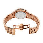 August Steiner Mens Rose Goldtone Stainless Steel Bracelet Watch-As-8257rgbu