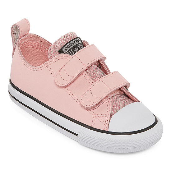 Converse Chuck Taylor All Star Party Dress Ox Toddler Hook And Loop Sneakers Girls