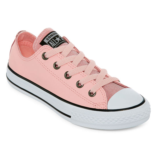 Converse Chuck Taylor All Star Party Dress Ox Girls Sneakers Lace-up - Little Kids/Big Kids