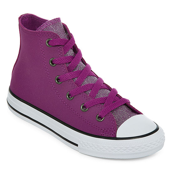 d544ab2f9d8fda Converse Chuck Taylor All Star Hi Girls Sneakers Lace-up - Little Kids Big  Kids - JCPenney