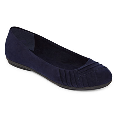 east 5th Hawken Womens Ballet Flats Slip-on Round Toe
