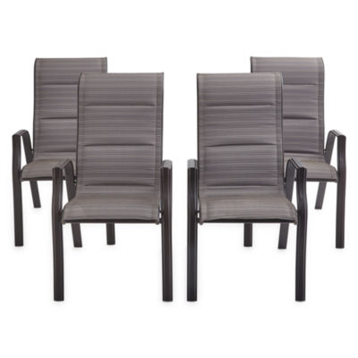 Outdoor Oasis Melbourne 4-pc. Patio Dining Chair