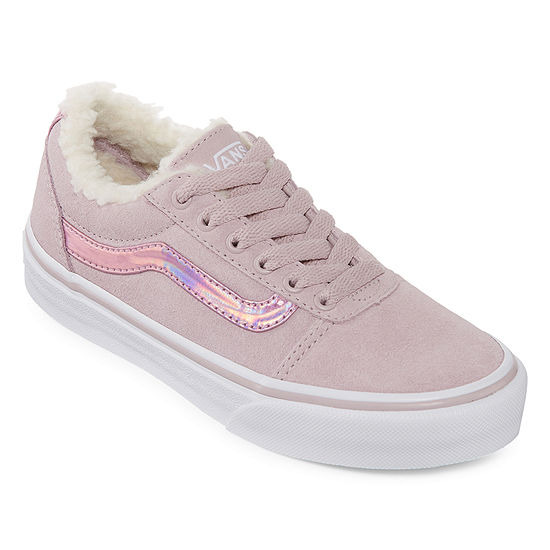 869d40e35ea01 Vans Ward Girls Skate Shoes Lace-up - Big Kids - JCPenney