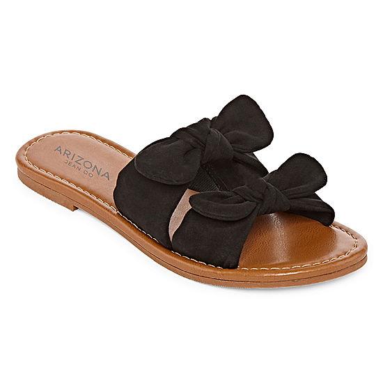 Arizona Womens Gill Slide Sandals (Black)