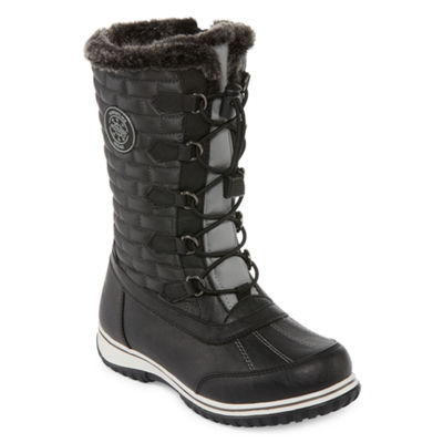 Totes Womens Ember Winter Boots Zip