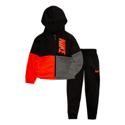 Nike 2-pc. Colorblock Therma Pant Set-Toddler Boys