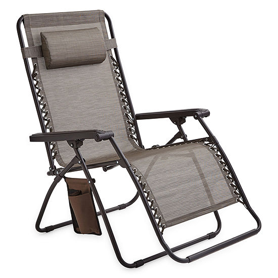Outdoor Oasis Melbourne Oversized Zero-Gravity Patio Lounge Chair