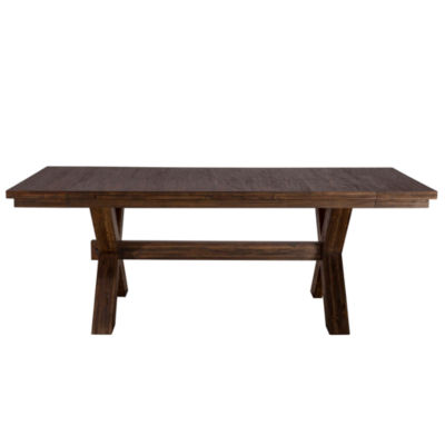 Hillsdale House Park Avenue Rectangular Wood-Top Dining Table