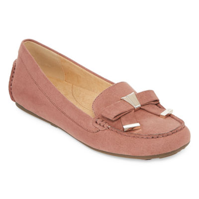 Liz Claiborne Aires Womens Loafers Slip-on Square Toe