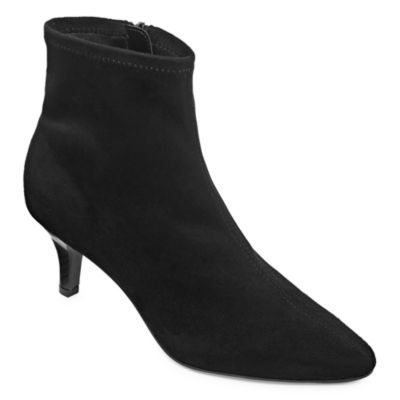 east 5th Womens Newbury Bootie Stiletto Heel Zip